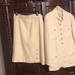 Chanel Boutique Skirt Suit